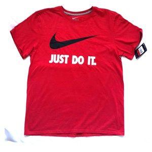 Nike Just Do it Swoosh T- Shirt